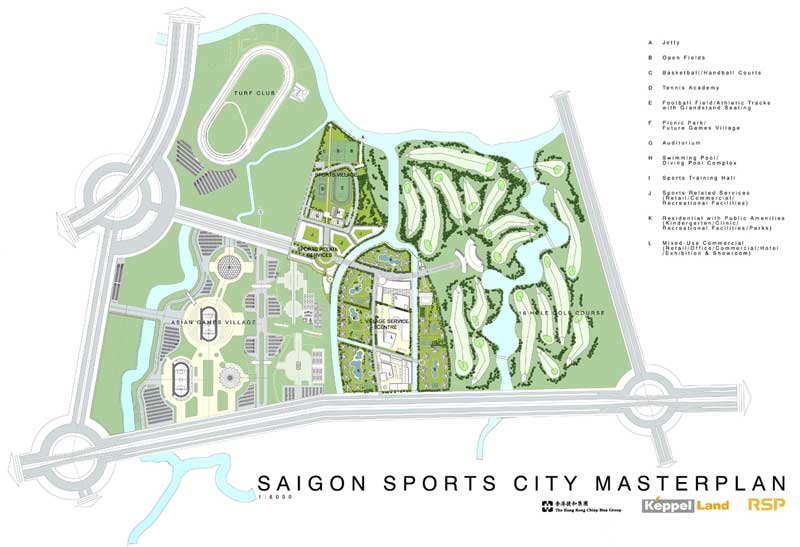 du an saigon sports city thu hut dau tu